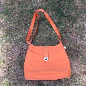 Orange Baggallini purse